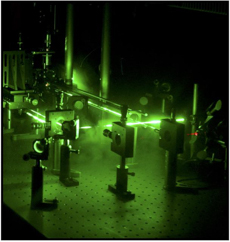 instrumentation with lasers
