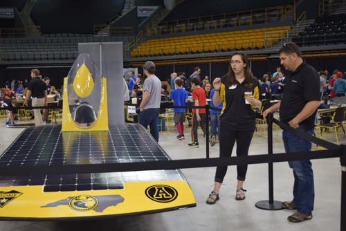 App State solar vehicle